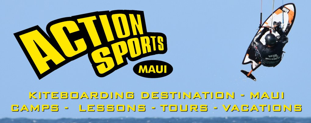 Kiteboarding Destination - Action Sports Maui